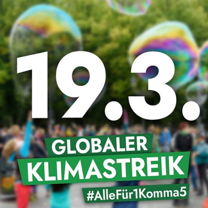 19.3. Klimastreik in Eberswalde