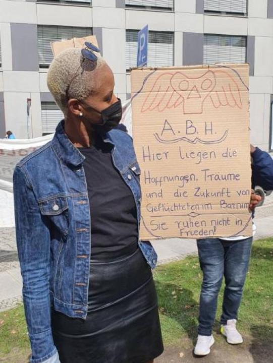 Bericht von 'Barnim für alle' über die Demonstration am 13.04.21