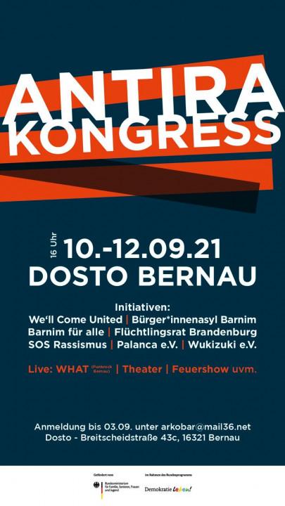 Antira-Kongress Bernau 10.-12.09.2021